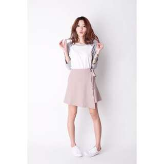 A for Arcade • KNOT FOR YOU SKIRT IN PINK