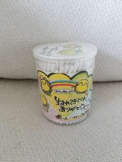 日本印花幼棉棒