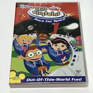 1DVD•CLEARANCE SALES {{DVD, VCD & CD} DISNEY little Einsteins : Race For Space (Playhouse DISNEY Out-Of-This-World Fun!) - DVD