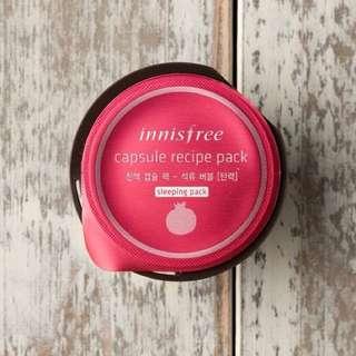 Innisfree Capsule Recipe Pack Pomegranate