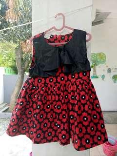 Gaun anak 6-18 bulan