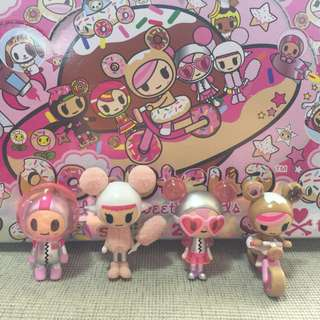 Tokidoki Donutella and her sweet friends Series 2