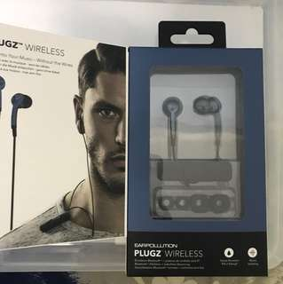 PLUGZS Wireless Bluetooth Ear Phones Buds
