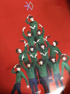 EXO Miracles in December Poster EXO 海報 (一套)