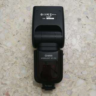 Q-mini speedlight SP-780 (Canon mount)