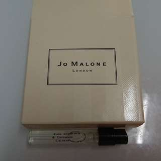 JO MALONE SAMPLE Earl Grey & Cucumber Cologne