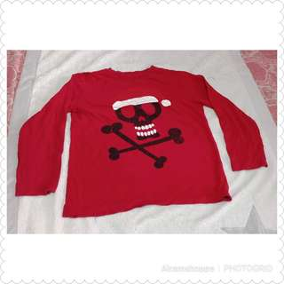 Place Red Longsleeves (size 7-8)