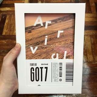 GOT7 Flight Log : Arrival Album with Poster in tube
