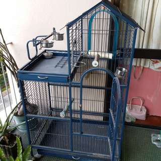 Big parrot cage 大鸚鵡籠 for lovely pet