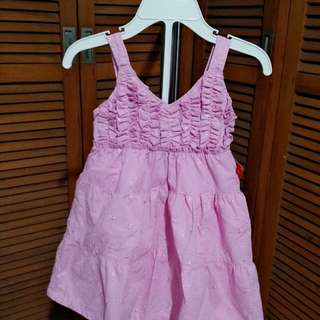 Girly Pink Dress for your Baby Girl