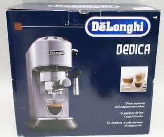 Delonghi Dedica coffee machine