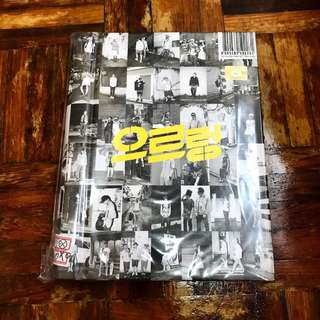EXO 1st Album Repackage - Growl (Korean Version) with Poster in tube