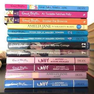 Enid Blyton's books clearance