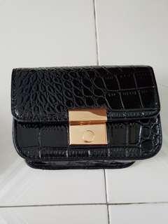 H & M black mini sling