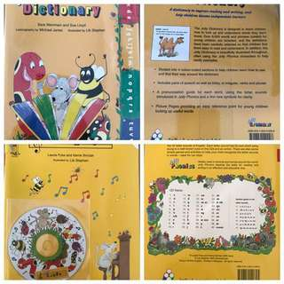 Jolly Phonics Dictionary & Jolly Songs with CD set