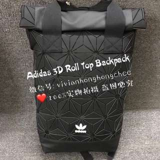 <AUTHENTIC> Adidas 3D Roll Top Backpack