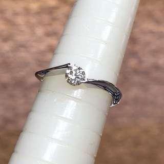 Pt900 diamond ring 鉑金鑽石戒指