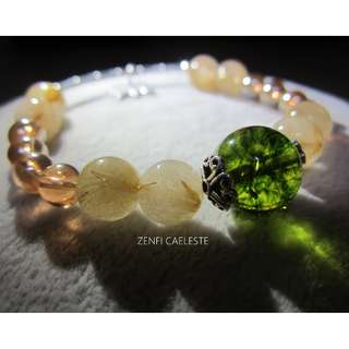 (1) Bracelet ~ Gemstone with S925