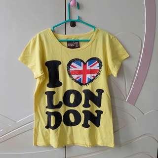 London Yellow T-Shirt