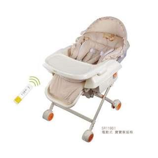 Vivibaby電動餐搖椅/餐椅