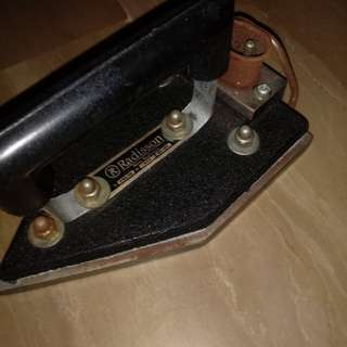 Vintage electrical iron