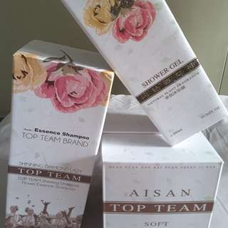 Asian Top Team Shinning Diamond Flower Essence Shampoo & Hair Mask