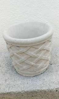 9*8cm Round Homemade Planter (grey)