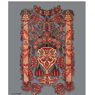 SAMEYEH LOT NO 16281 KASHAN FROM C. PERSIA 200 X 130 CM