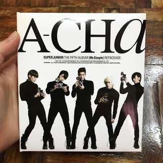 Super Junior Fifth Album Repackage - A-CHA