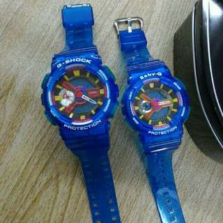 G-SHOCK COUPLE JELLY WATCH