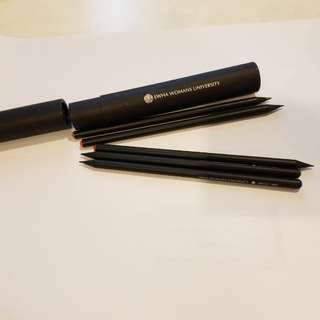 Korean Souvenir/ black pencil set of 5p