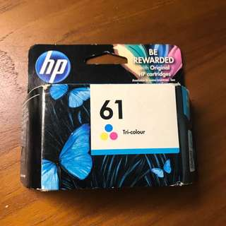 HP Deskjet Ink Cartridge 61 tri color