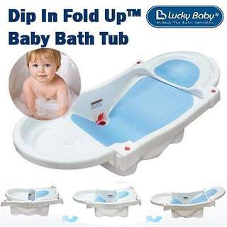 Love Lucky Baby Dip In Fold Up™ Baby Bath Tub
