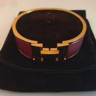 Hermes Clic H bracelet GM