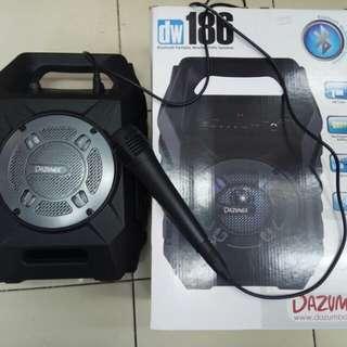speaker bluetooth portable + microfon