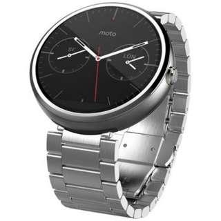 Motorola 360鋼帶錶