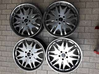 "Used Rim ROJAM ORI 19""x8.5jj HOT"