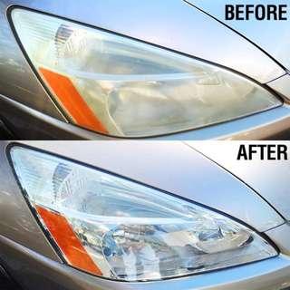 Headlamp Restoration - Headlamp polishing