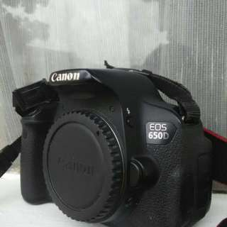 Canon 650D Touchscreen Murah Made in Japan bukan China (Body Only)