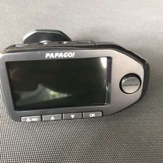Papago 360 in car camera. Cam. Front and rear