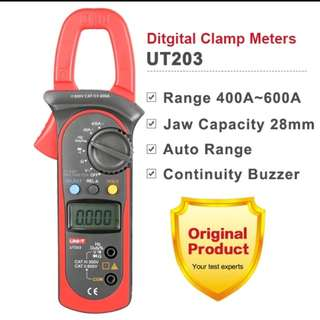 UNI-T UT203 DIGITAL CLAMP MULTIMETER