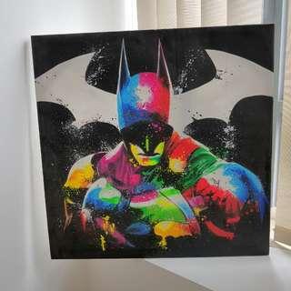 Batman!! Canvas Painting