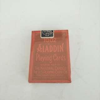 1002 ALADDIN POKER CARDS