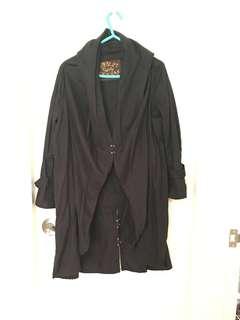 Made in Japan Asymmetric hem Coat