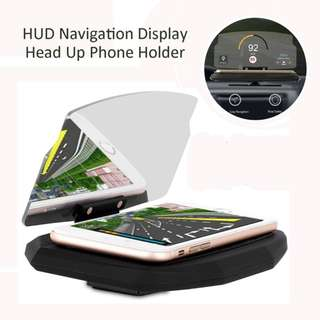 Universal SmartPhone Car HUD Display Holder