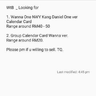 Wanna One Daniel