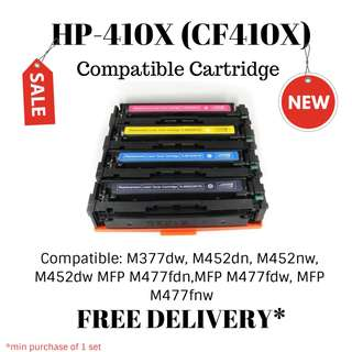 HP-410X (CF410X) Compatible Toner Cartridge- FREE DELIVERY