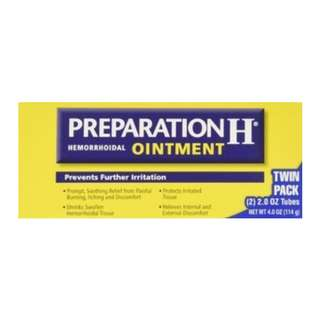 Preparation H Cream 0.90 oz (Pack of 3)