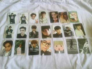 [WTS] EXO OFFICIAL PHOTOCARD