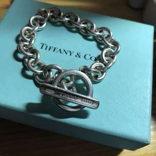 Tiffany ring toggle bracelet